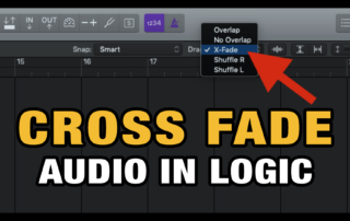 Cross Fade Audio Clips in Logic Pro
