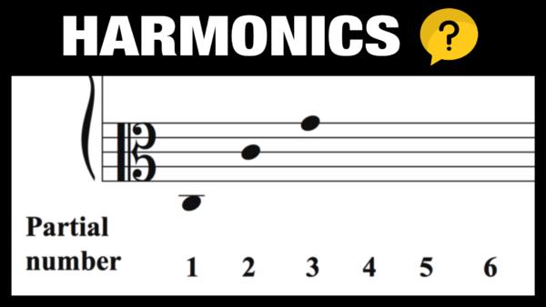 Harmonics in Music (Overtone Series)