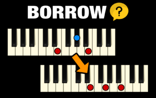 How to use Borrowed Chords