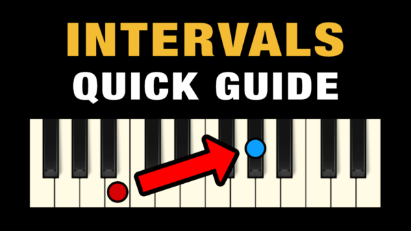 Music Intervals - Quick Guide