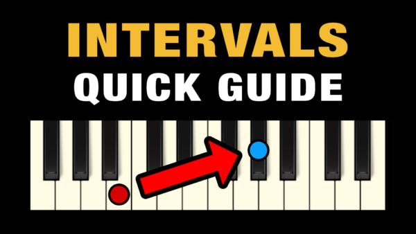 Music Intervals - Quick Guide