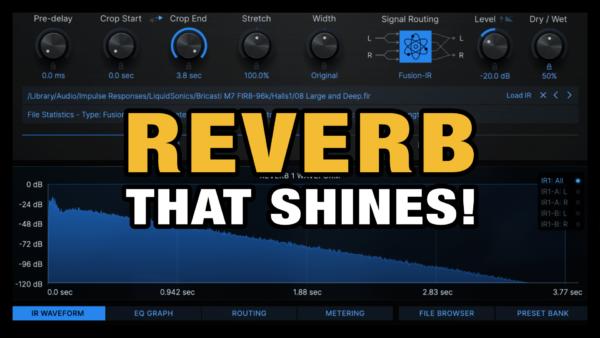 Reverb VST Plugin (Reverberate)