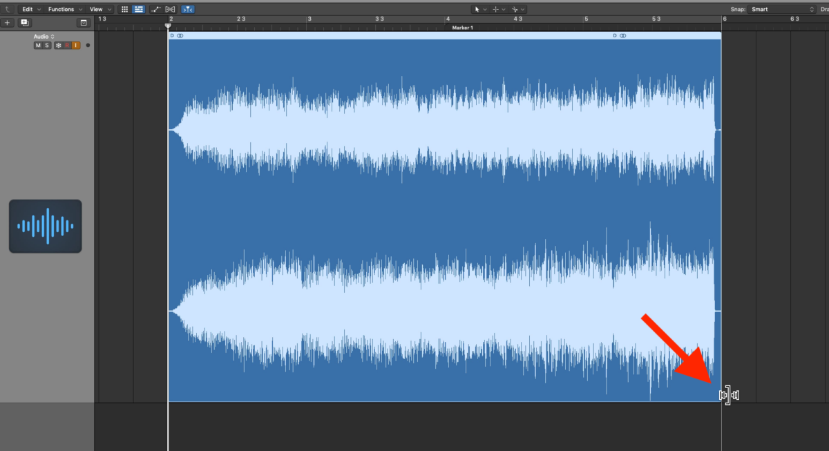 Time Stretch to Slow Down Audio in Logic