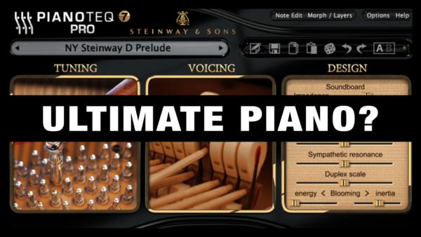 Ultimate Piano VST Plugin (Pianoteq)
