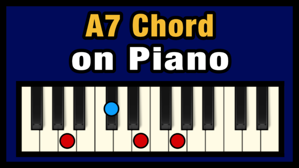 A7 Piano Chord
