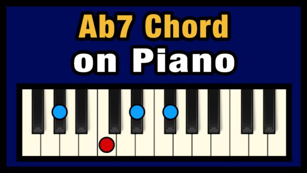 Ab7 Piano Chord