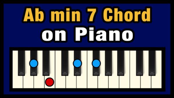 Abmin7 Piano Chord