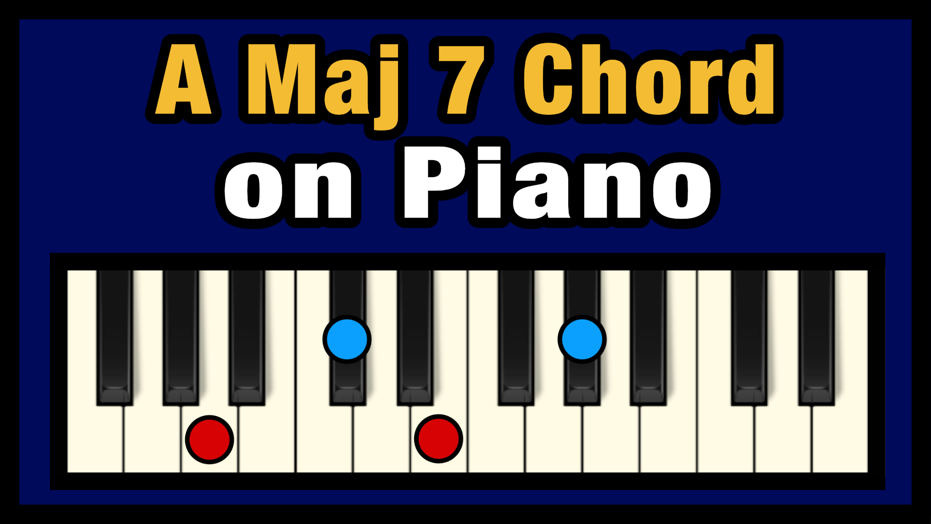 A Maj 15 Chord on Piano Free Chart   Professional Composers