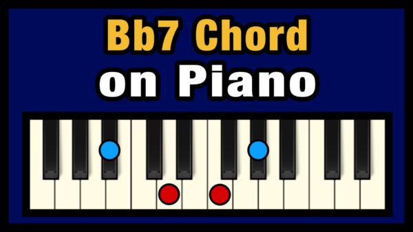 Bb7 Piano Chord
