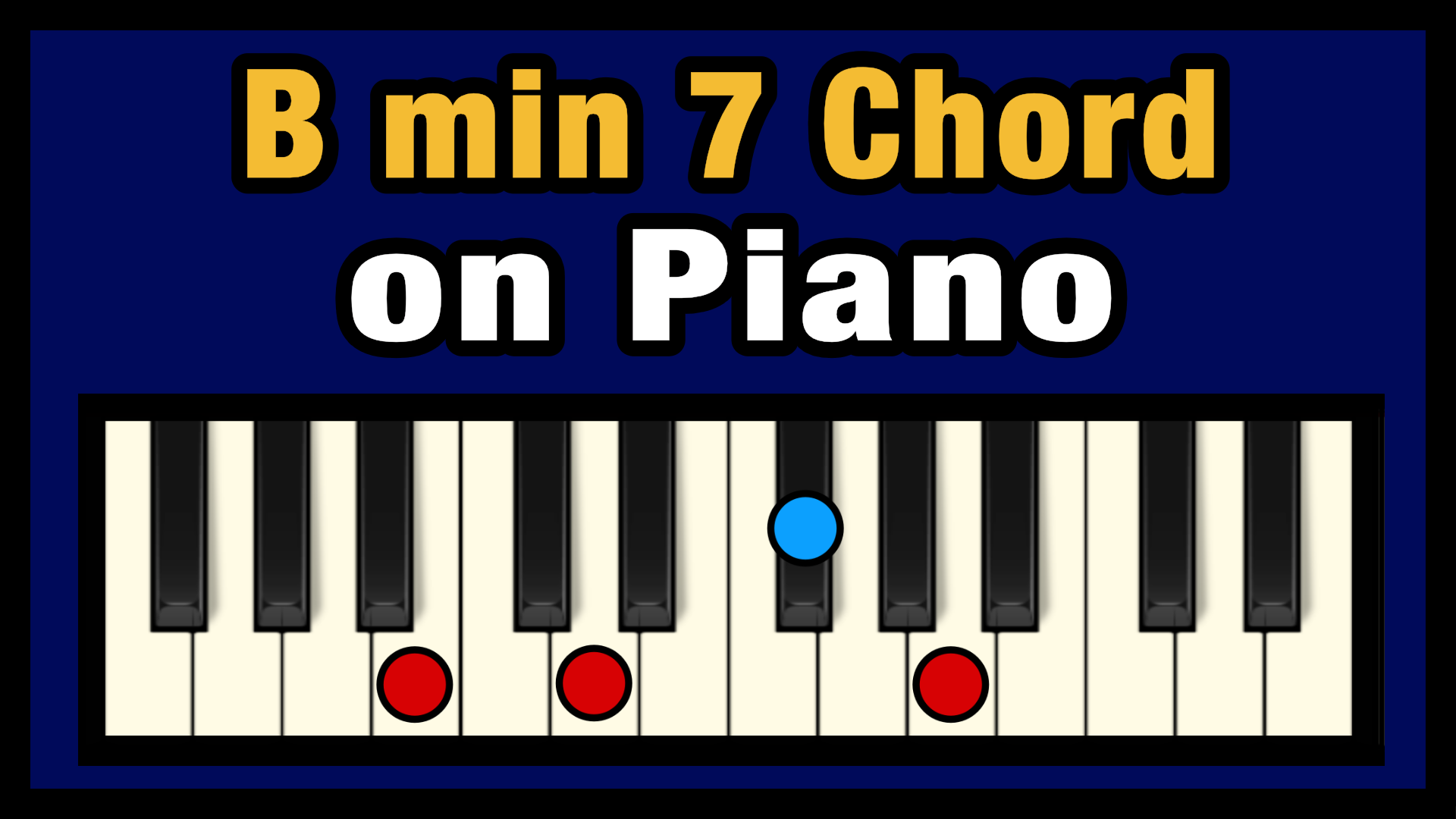 B min 15 Chord on Piano Free Chart   Professional Composers
