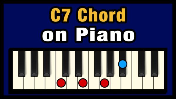 C7 Piano Chord
