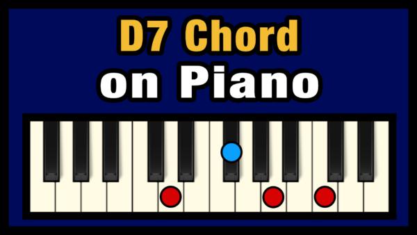 D7 Piano Chord
