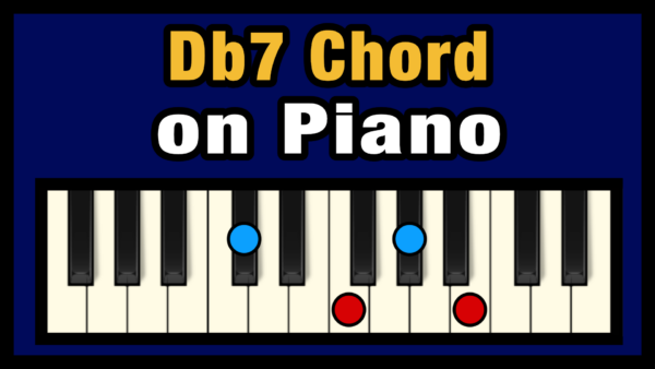 Db7 Piano Chord