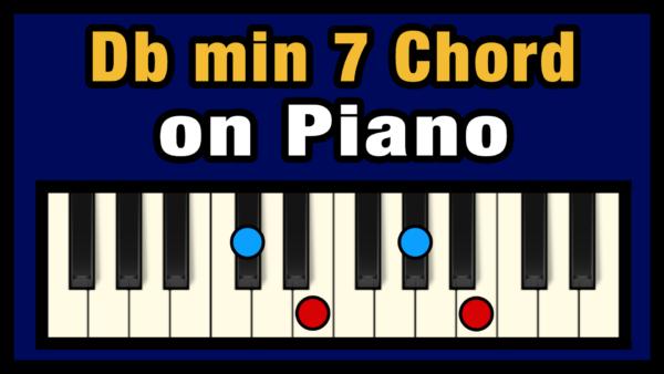 Dbmin7 Piano Chord