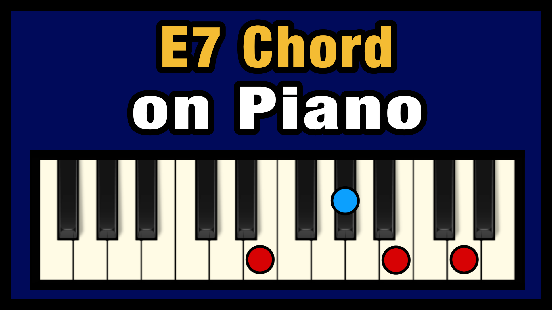 E15 Chord on Piano Free Chart – Professional Composers