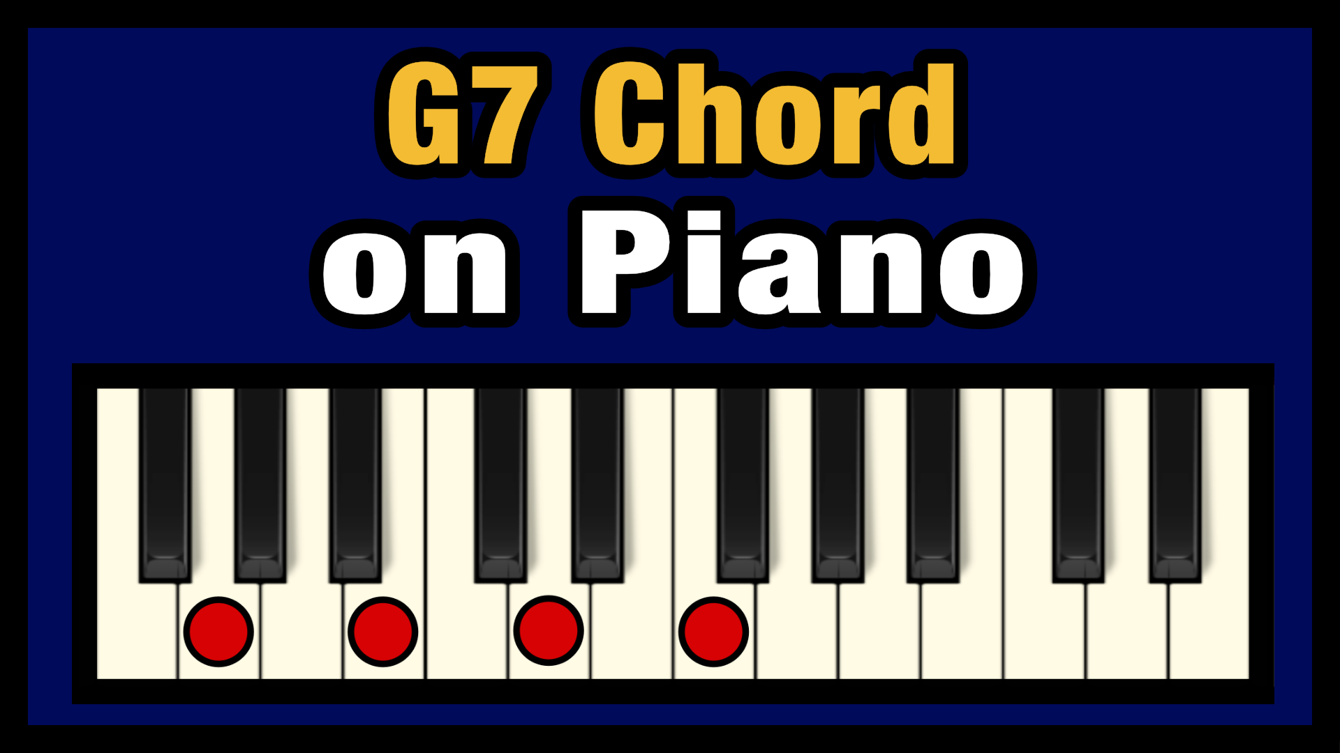 G15 Chord on Piano Free Chart   Professional Composers