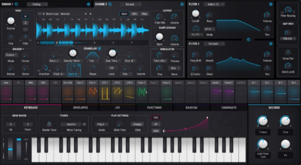 Pigments - Synth VST Plugin
