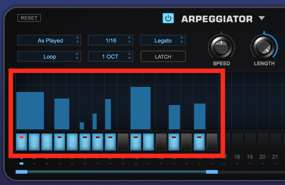 How to use an Arpeggiator - Step 2