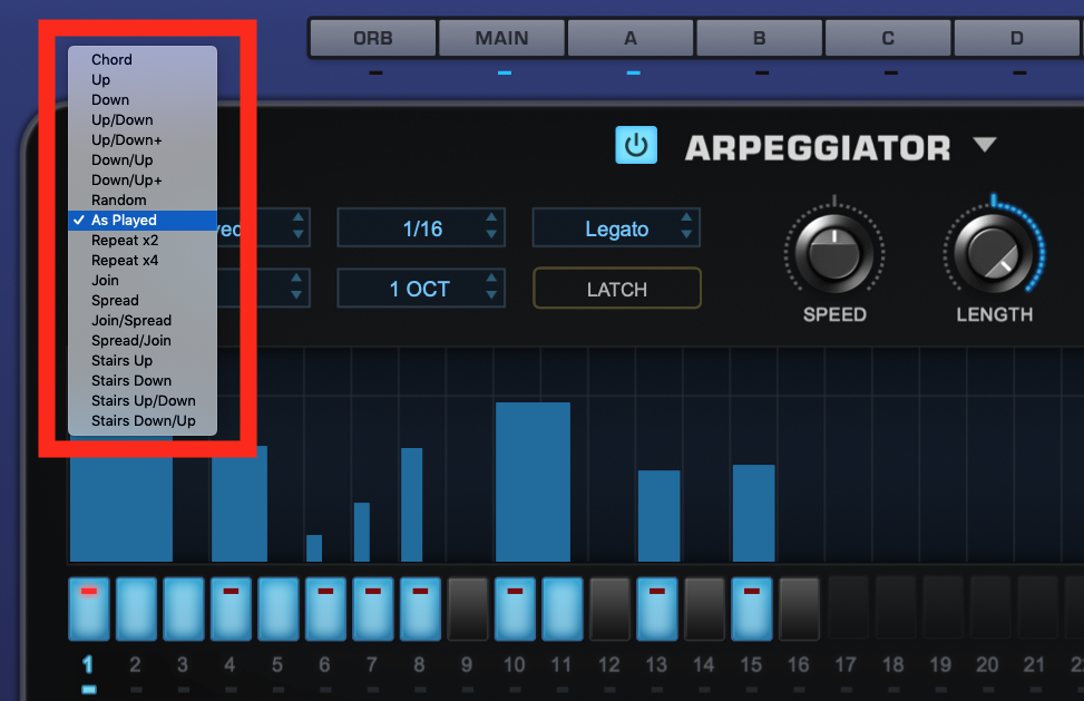 How to use an Arpeggiator - Step 3