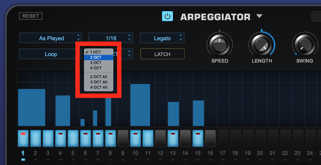 How to use an Arpeggiator - Step 4
