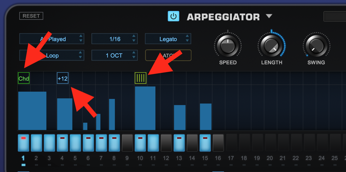 How to use an Arpeggiator - Step 5