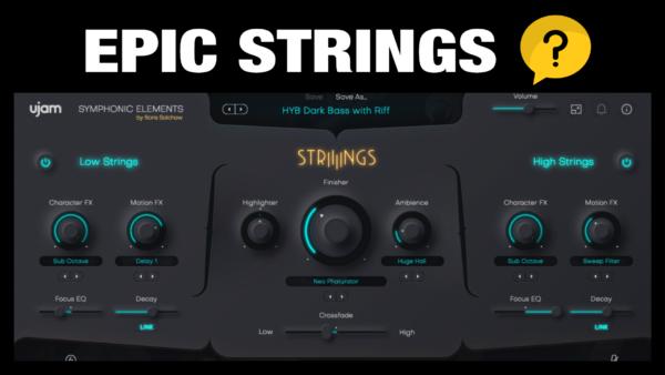 Ujam STRIIIINGS - Epic Orchestral Strings