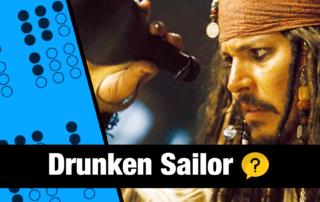 Drunken Sailor on Irish Tin Whistle