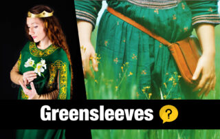 Greensleeves Folk Song on Irish Tin Whistle