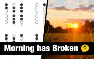 Morning has Broken on Irish Tin Whistle