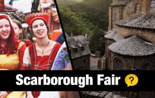 Scarborough Fair on Irish Tin Whistle