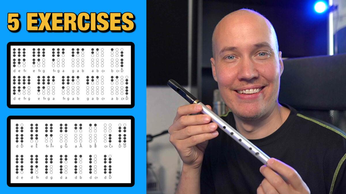 5 Tin Whistle Exercises for Beginners